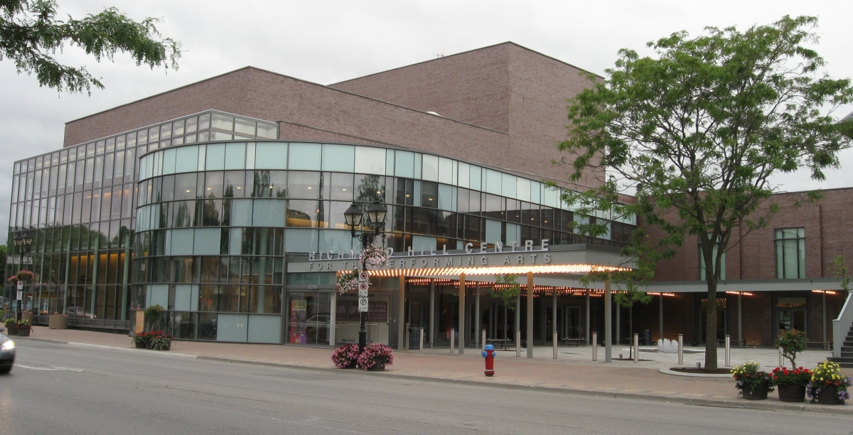 Richmond Hill Centre for the Performing Arts - Front